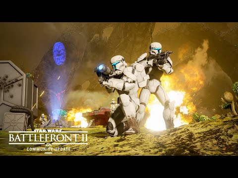Star Wars Battlefront 2: New Planet, Modes, and Reinforcement — Community Update