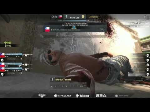 The World Championships 2015 (South America Qualifiers) | Chile vs. Uruguay | (Map: Mirage)