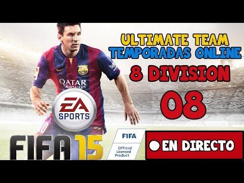 FIFA 15 U.T. - TEMPORADAS ONLINE - 08 - En Directo - PS4