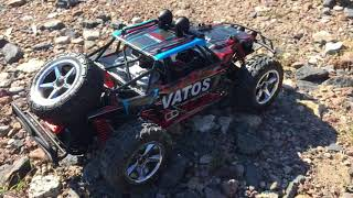 VATOS R/C CAR Verbesserte Version, 1:12, RC Offroad Buggy 4x4, 2,4GHz, 45kmh review test