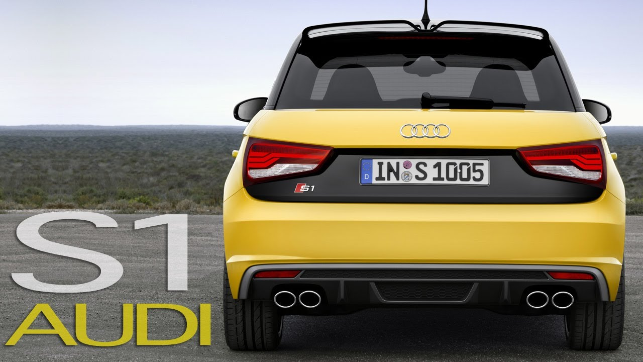 audi s1 sportback test drive first official driving youtube. Black Bedroom Furniture Sets. Home Design Ideas