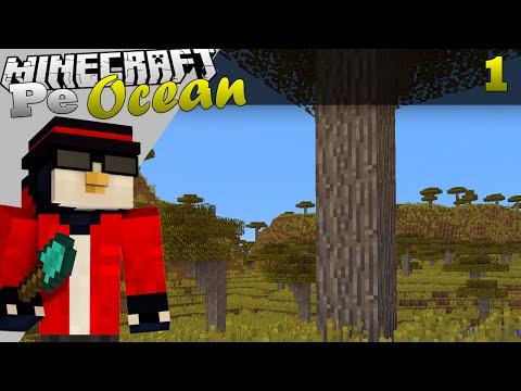 Minecraft Pe Ocean Lupta pentru supravietuire a inceput Ep.1 S.3