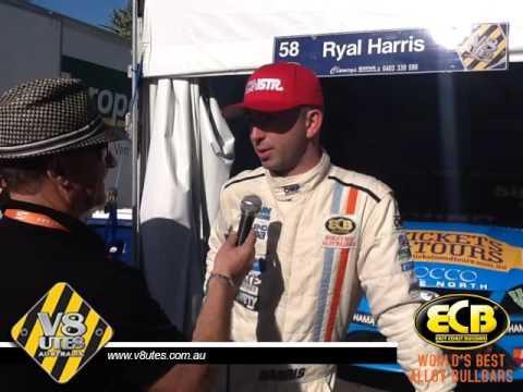 V8 Utes Round 7 Gold Coast - Ryal Harris Post Qualifying