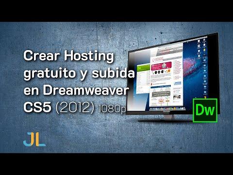 Crear Hosting gratuito y subida en Dreamweaver CS5