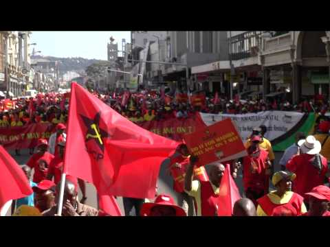 SACP and COSATU Workers March