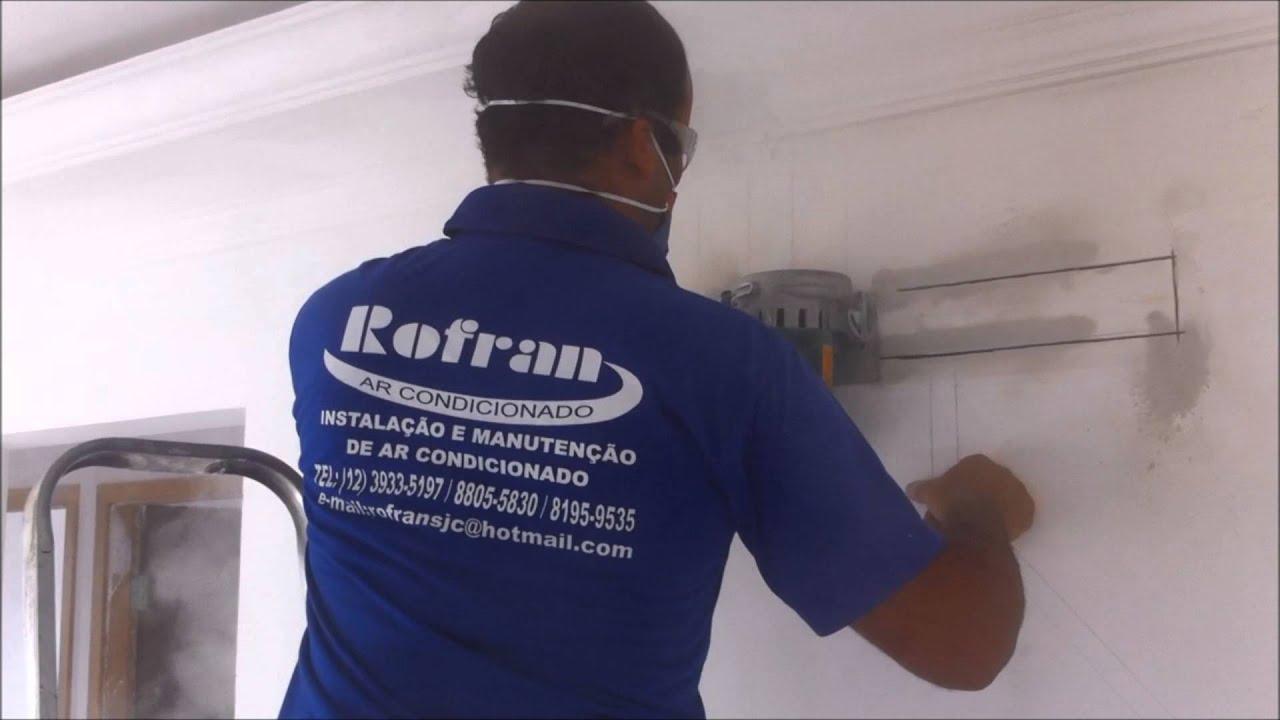 Preparação Pre Instalação Infraestrutura para instalação de ar  #31396B 1920 1080