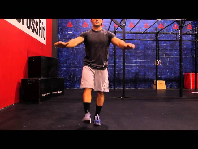 "Reebok CrossFit ONE Movement Demo ""Pistol Squat"""