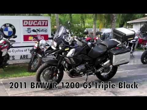 Pre-Owned 2011 BMW R 1200 GS Triple Black at Euro Cycles of Tampa Bay