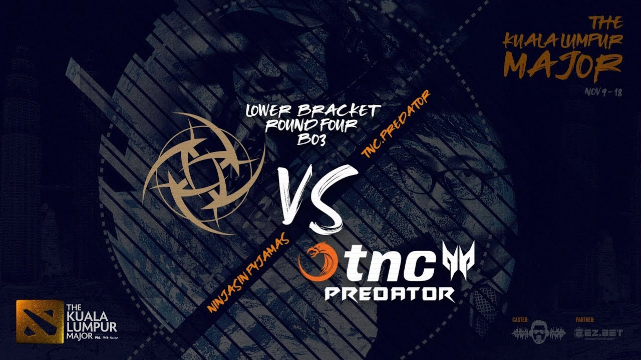 [DOTA 2 LIVE PH] TnC Predator VS Ninjas in Pyjamas  |Bo3| The Kuala Lumpur Major Main Stage LB