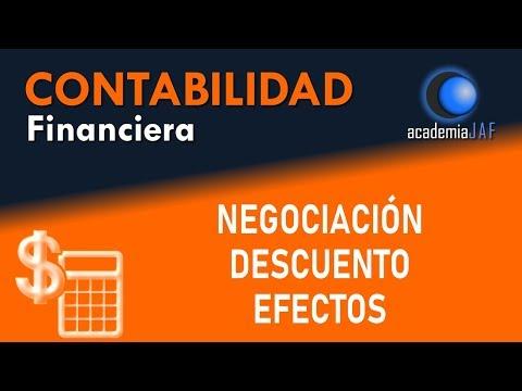 Negociación o descuento de pagarés; cobro antes vencimiento - Capítulo 24 - Curso Contabilidad