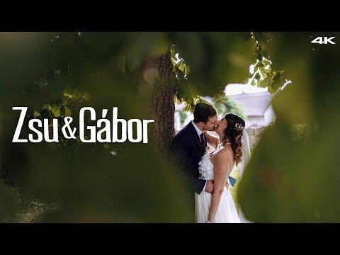 Zsu & Gábor Esküvői Film - 2019. Vasad, Nádas Pihenőpark, Ócsa - 4K