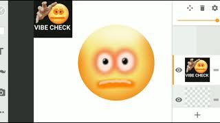 "VIBE CHECK emoji ""art"""