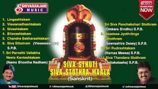 Siva Stuthi || Lord Shiva Devotional Songs || S.P.Balasubramanyam Songs, Mano Songs