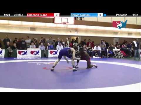 FS 55 KG - R16 - Obe Blanc (TMWC) vs. Shawn Contos (NLWC)