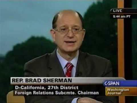 Congressman Brad Sherman Answers Questions on C-SPAN's Washington Journal