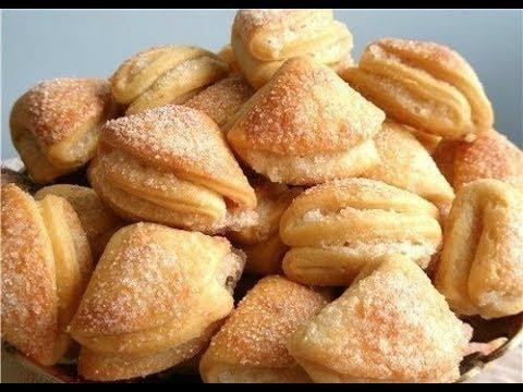 Печенье творожные треугольники!