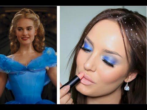 Blue Eyeshadow? Crystals In My Hair? Cinderella Inspired Look! video