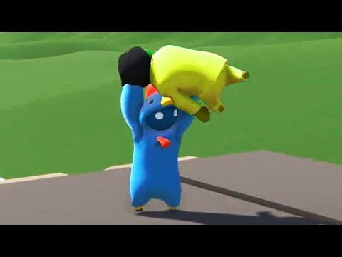 THE GREATEST KILL EVER!? (Gang Beasts Funny Moments)