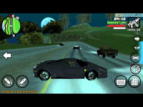 Gta san andreas android car mods