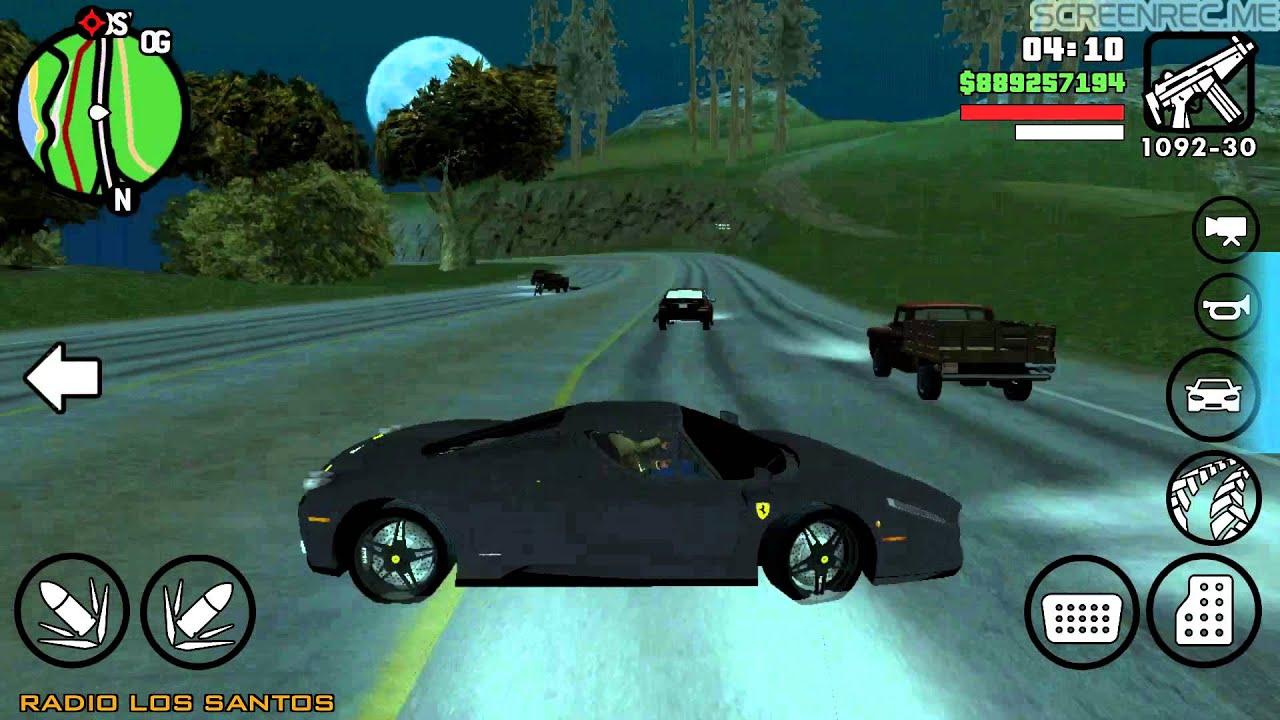 Gta San Andreas Android Car Mods Youtube