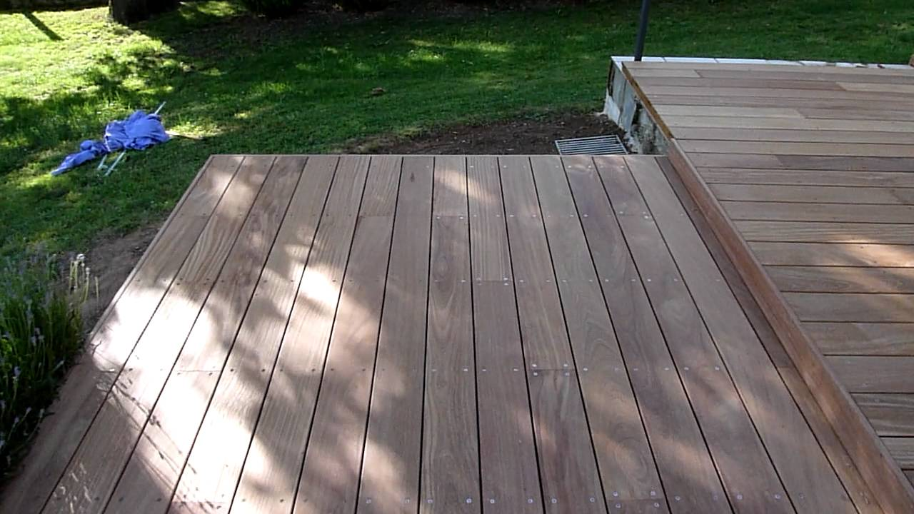 terrasse bois cumaru de wwwdecoterrasseboiscom  YouTube
