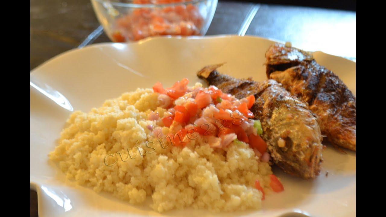 Recette du attieke poisson cuisine ivoirienne how o cook attieke and fish youtube - Cuisine mongole recettes ...