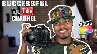HOW TO GROW A SUCCESSFUL YOUTUBE CHANNEL 2017