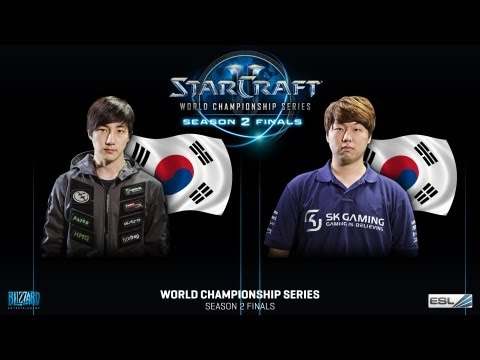 MC vs. Jaedong - Group A - WCS Season 2 Finals