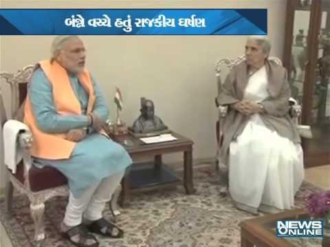 war narendra modi and kamla benival