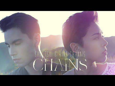 Chains (nick Jonas) - Sam Tsui & Kina Grannis Cover video