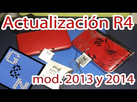 Actualizar R4 Nintendo 3DS Ver. 7.1.0-16U