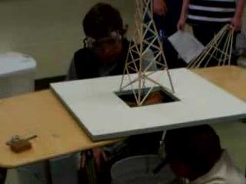 Logan 39 S Balsa Wood Tower For Science Olympiad Youtube