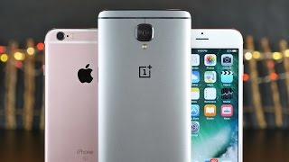 OnePlus 3 vs iPhone 6S Ultimate Comparison!