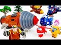 Go Go Super Wings, The Underminer Is Making Troubles~! - ToyMart TV