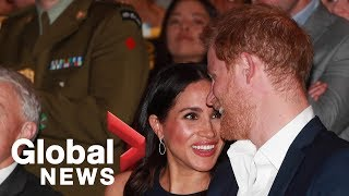 Prince Harry and Meghan attend reception by Auckland's Pasifika community