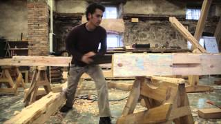 Traditional French Timber Frame Building Course.Teaser