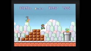 Does the new glitch in SMB work on the SNES version?