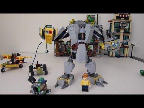 LEGO Ninja Turtles 79105 Baxter Robot Rampage