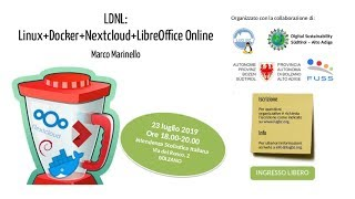 Workshop: LDNL: Linux + Docker + Nextcloud + LibreOffice Online