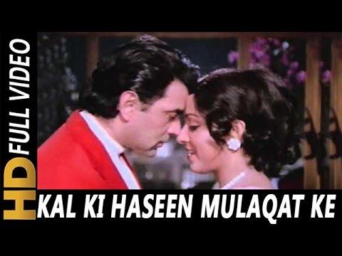 Kal Ki Haseen Mulaqat Ke Liye | Kishore Kumar, Lata Mangeshkar | Charas 1976 Songs | Dharmendra