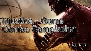 Injustice Game - The Flash combo compilation