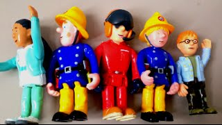 Fireman Sam Collection 5 Figures Unboxing