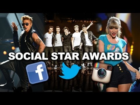 Justin Bieber v. One Direction v. Taylor Swift - Most Popular in Social Media?