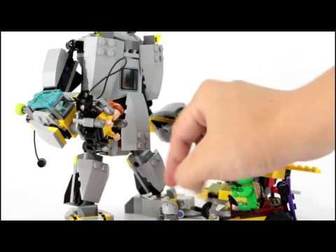 Lego TMNT Baxter Robot Rampage Ninja Turtle Review 79105