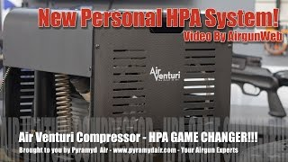 Air Venturi Changes the Game with their Personal HPA compressor! - By AirgunWeb