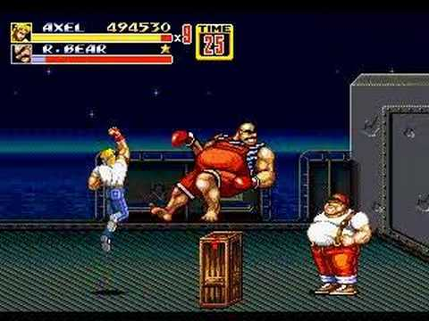 Streets of Rage 2Bare Knuckle R Bear Streets Of Rage 2