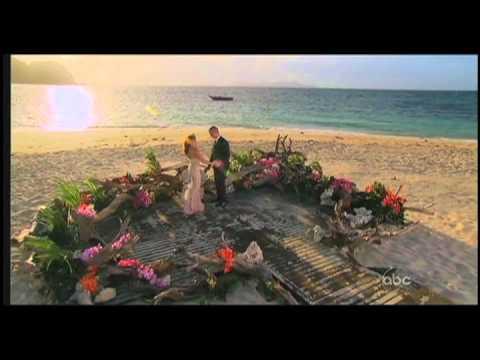 Ashley Hebert in Randi Rahm (The Bachelorette Final Dress)