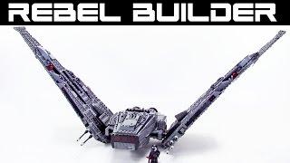 lego kylo ren command shuttle instructions