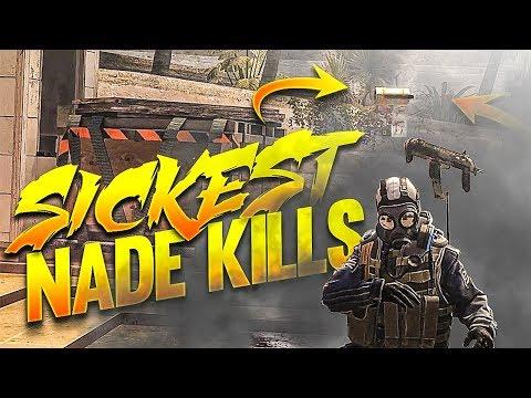 CS:GO - SICKEST Projectile Kills!
