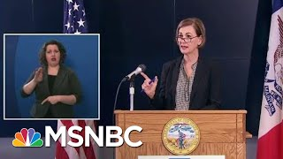 Weird Math, Opaque Policies Keep People In The Dark On COVID-19 | Rachel Maddow | MSNBC
